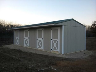 Horse and Livestock Shelters – The Cottage Works