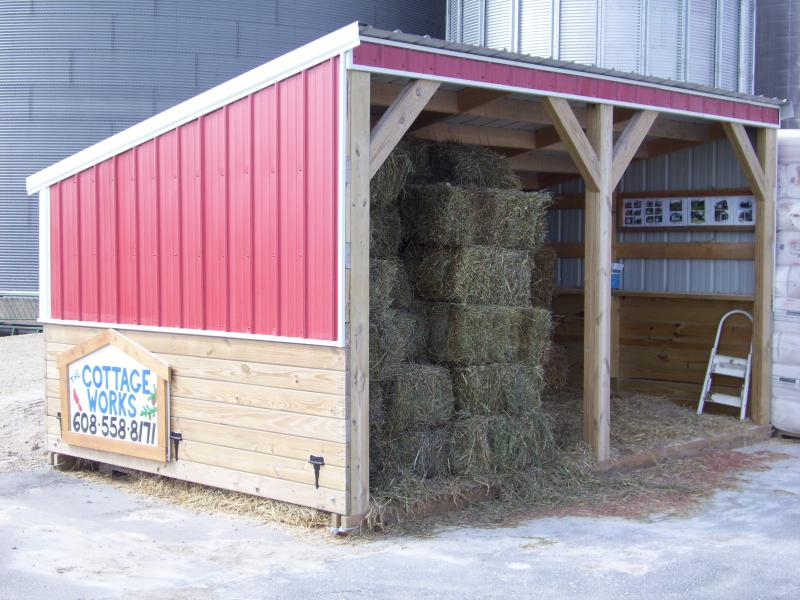 Horse And Livestock Shelters The Cottage Works