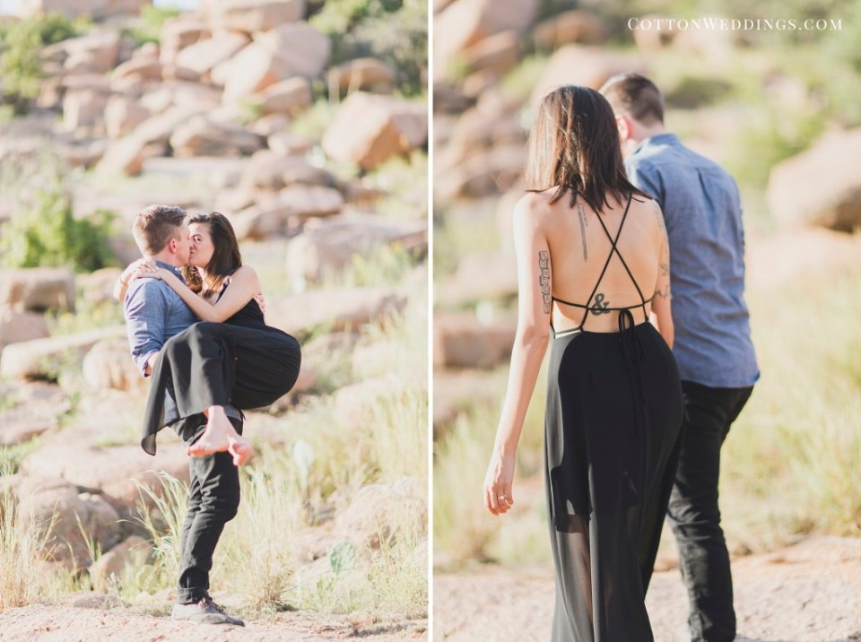 Enchanted Rock Engagement Photography_006