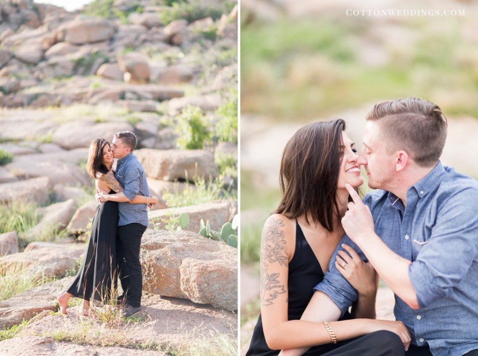 Enchanted Rock Engagement Photography_014