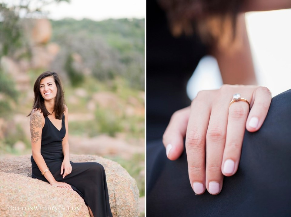 Enchanted Rock Engagement Photography_020