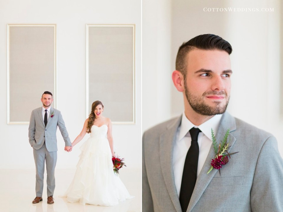 Modern Romantic wedding art gallery