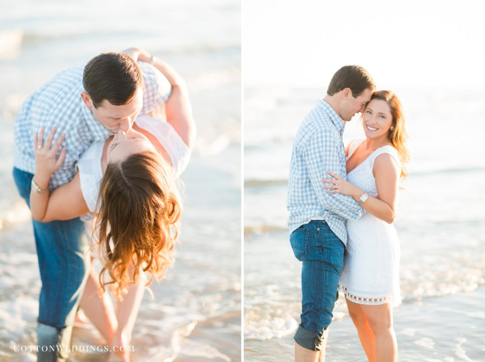 Galveston Engagement Photography - Cotton Weddings
