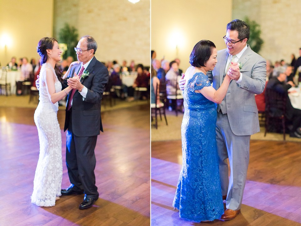 father daughter mother son dance