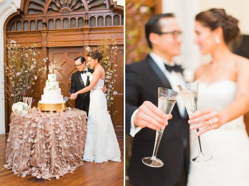 parador wedding cake cutting
