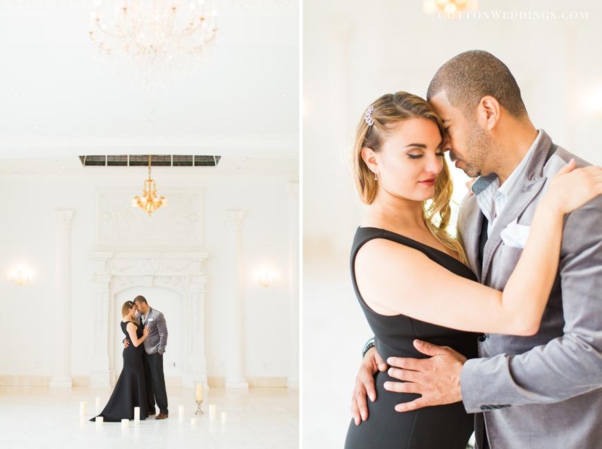 Glamorous Chateau Cocomar Engagement Photos_0037