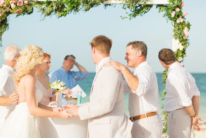 signing ceremony Cancun destination wedding