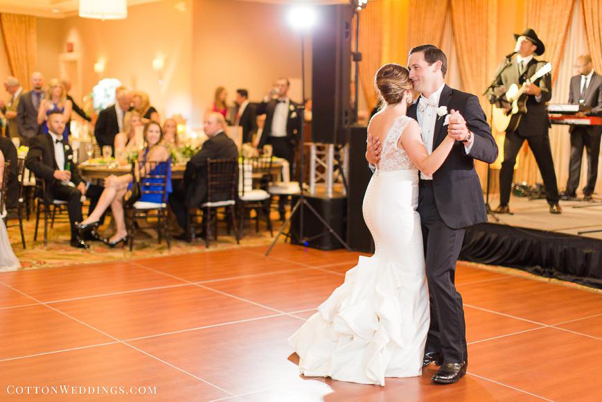Tremont House Galveston Coastal Wedding-85