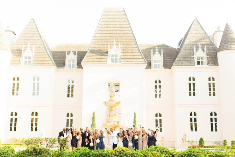 great gatsby wedding chateau cocomar