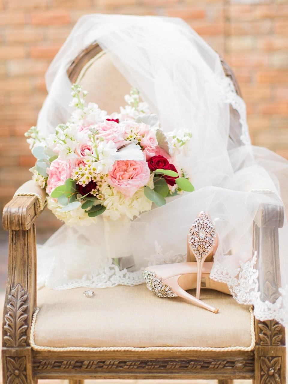 elegant southern wedding details