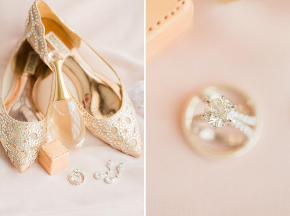 blush badgley mischka wedding shoes