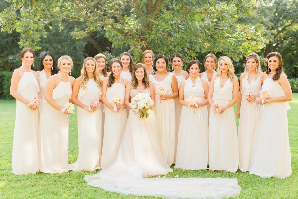 classy river oaks wedding