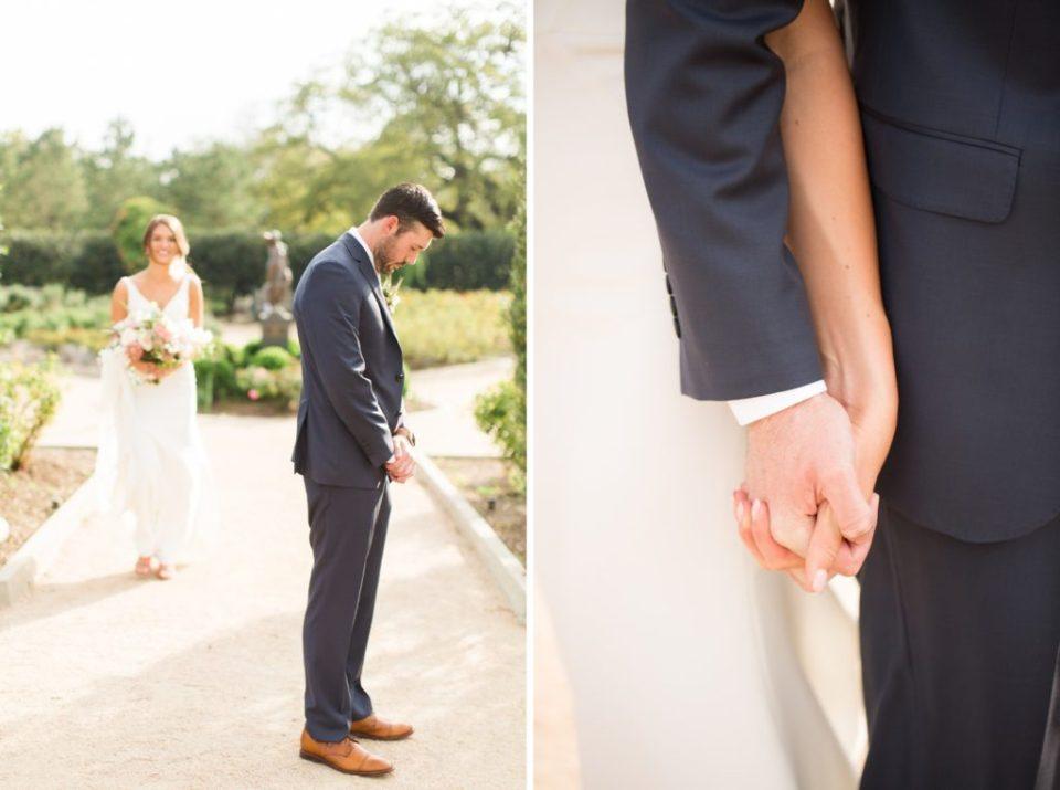 McGovern Centennial Gardens Wedding first touch