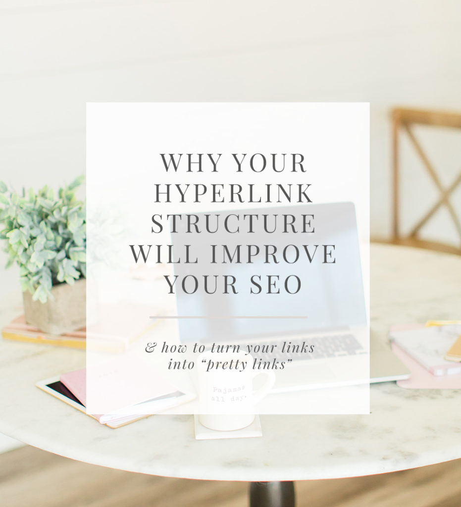 how hyperlink structure improve SEO