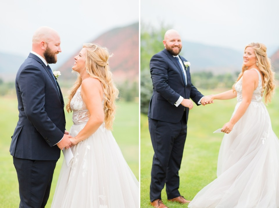 intimate Colorado destination wedding