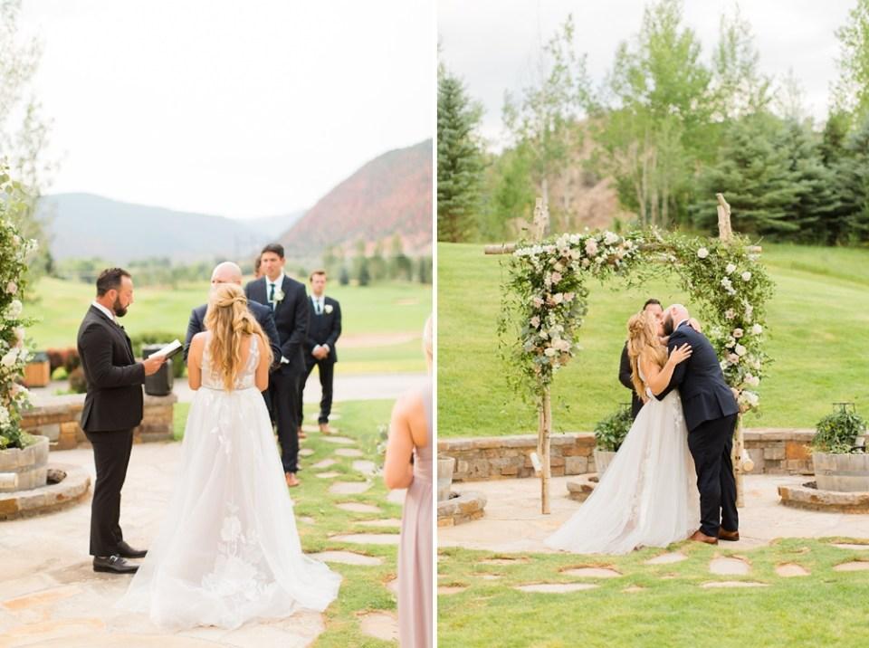 Colorado outside ceremony