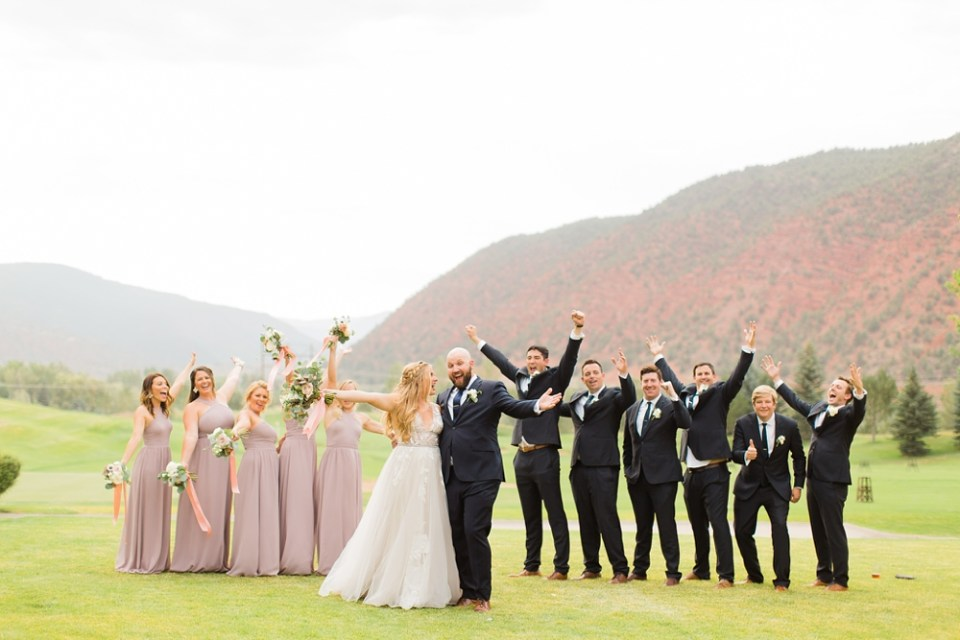 fun Destination Wedding in Glenwood Springs, Colorado