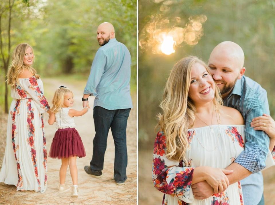 floral fall family photos