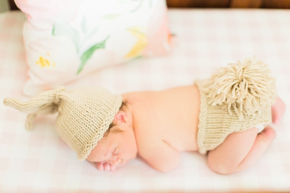 Houston Bunny Themed Newborn photos