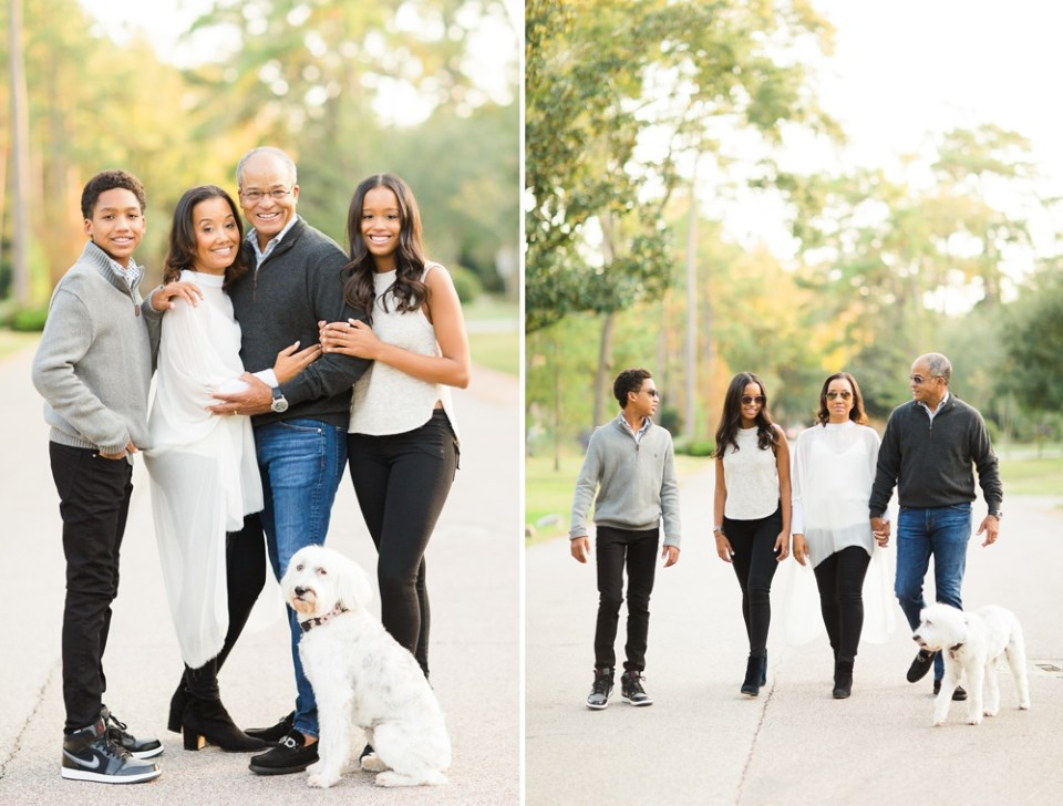 fall family photos houston