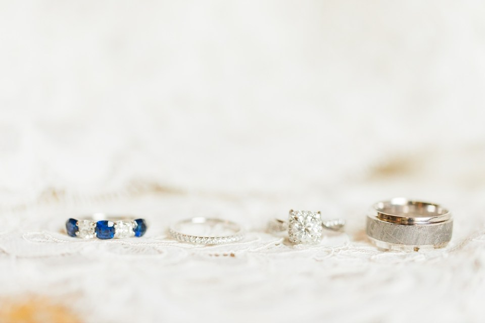 The Corinthian Wedding Ring Details by Cotton Collective