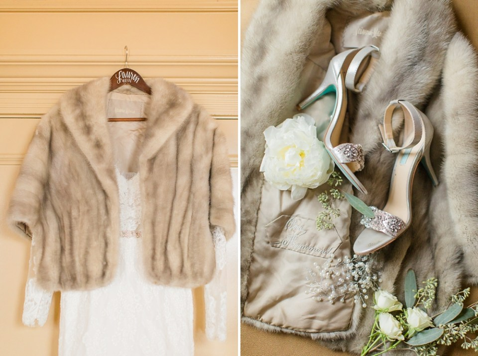 The Corinthian Wedding Bride Shoes Details by Cotton Collective