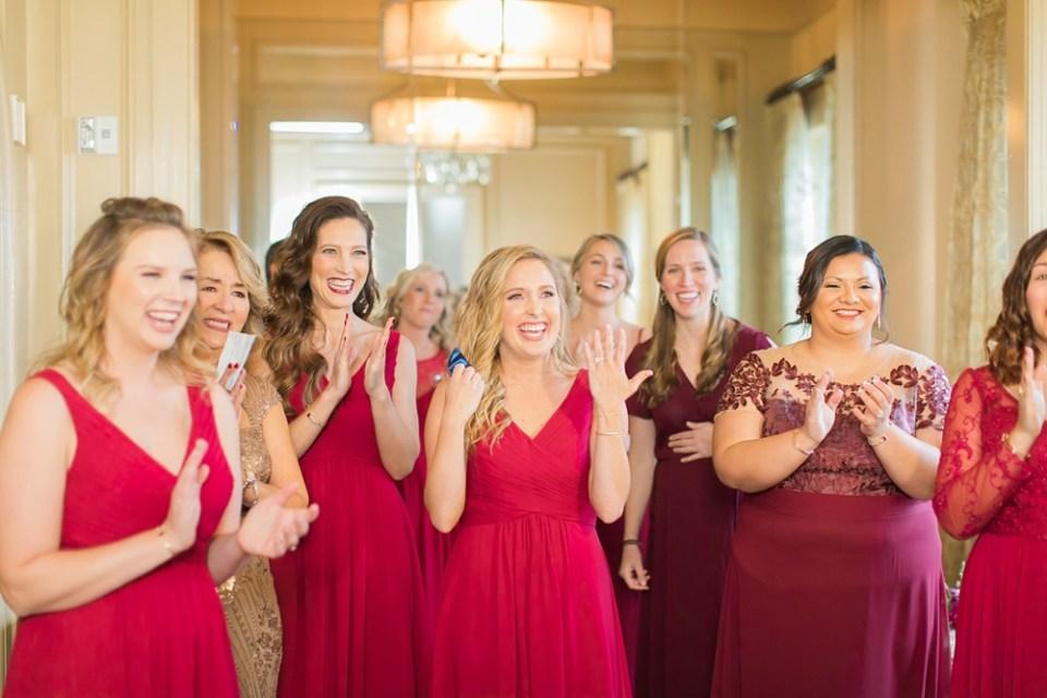 The Corinthian Wedding Bridesmaids by Cotton Collective