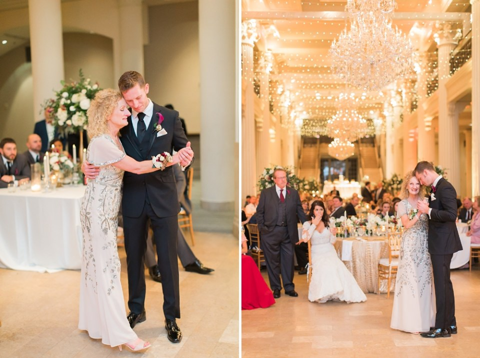 The Corinthian Wedding Mother and Son First Dance by Cotton Collective