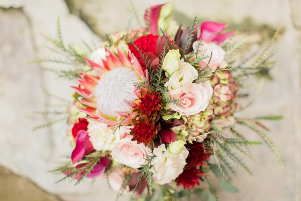 wedding day bouquet