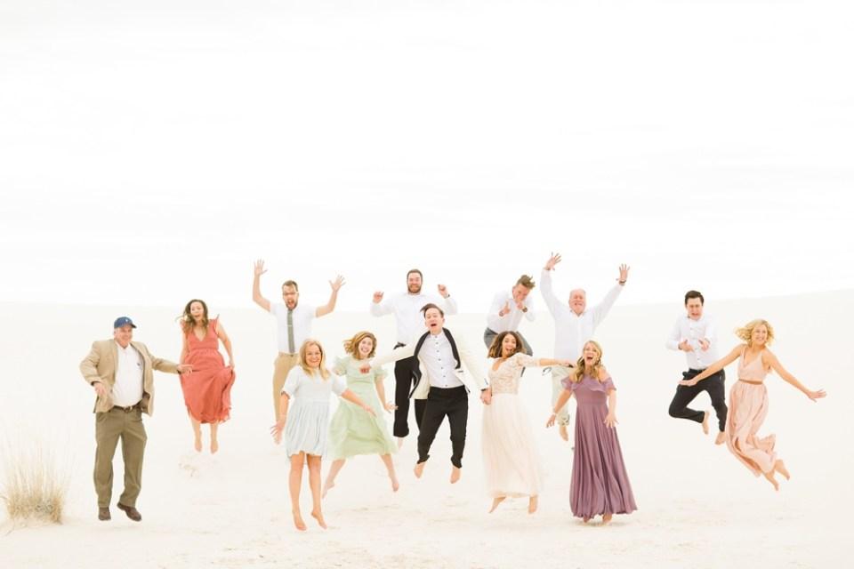 White Sands New Mexico Wedding