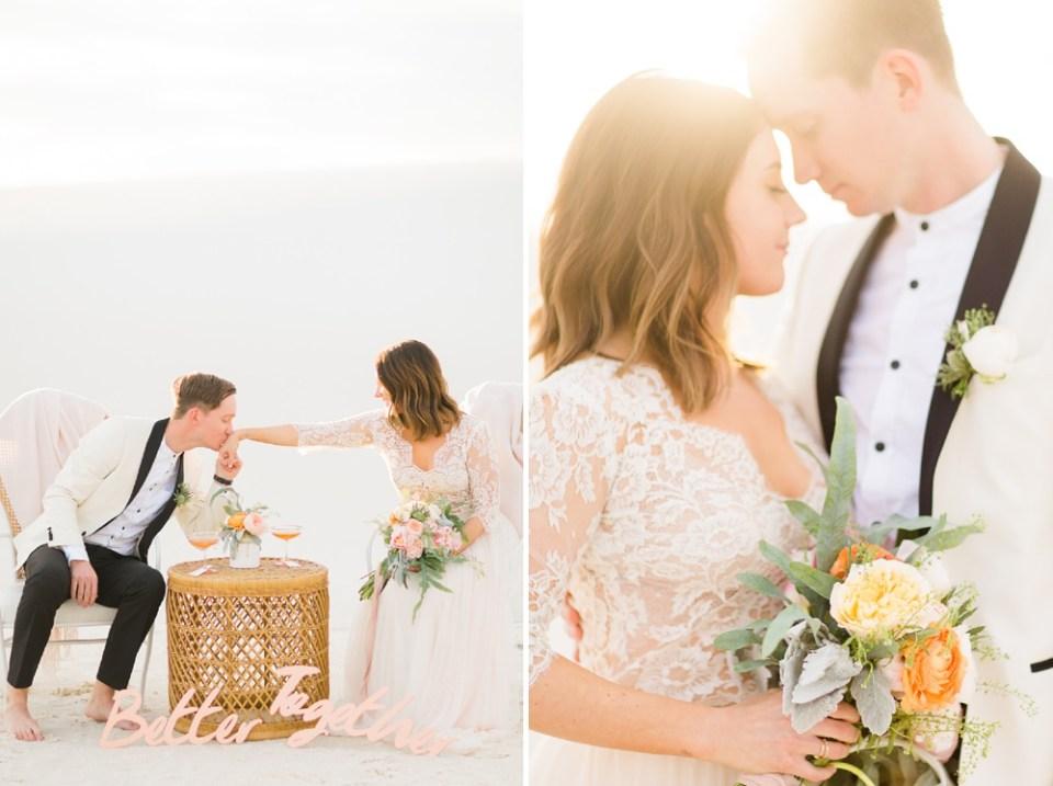 White Sands Wedding Photoshoot