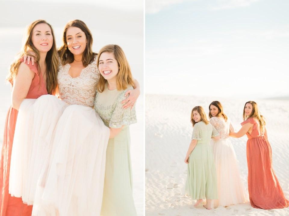 White Sands Wedding Day