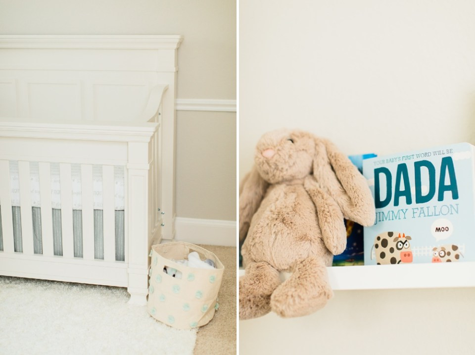 newborn photography nursery details