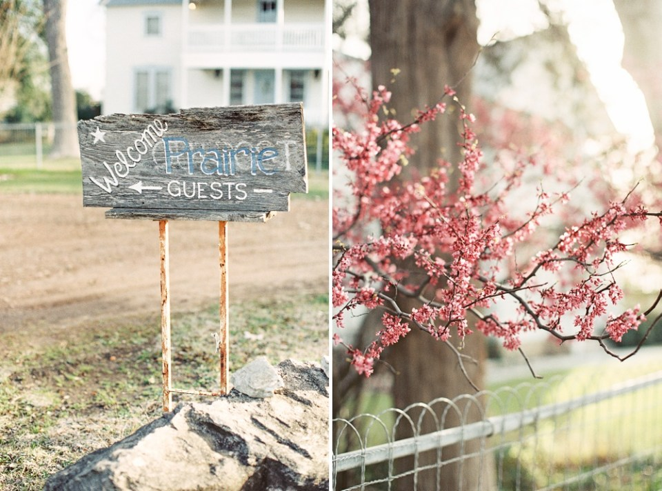 Round Top Wedding Details