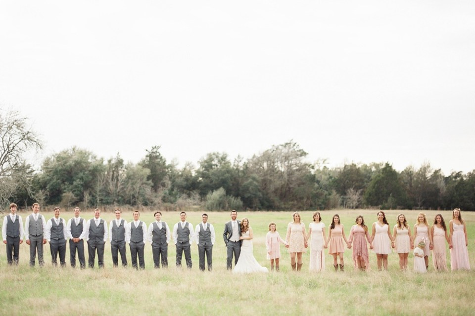 Round Top Wedding Party