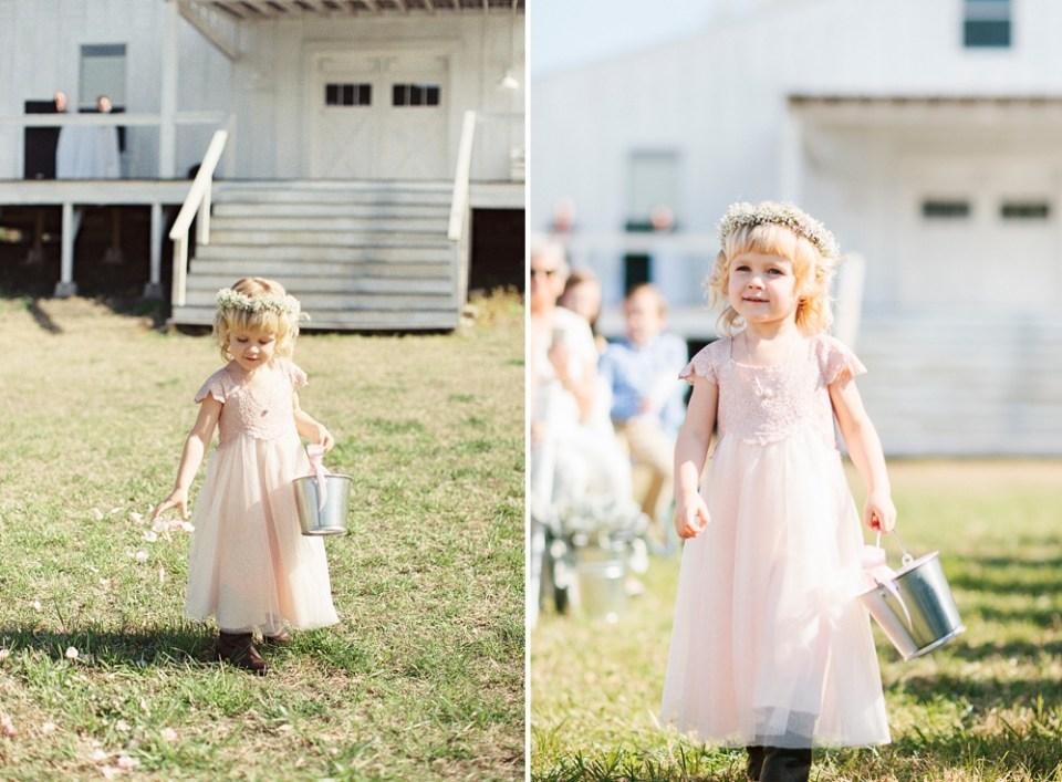 Round Top Flower Girl