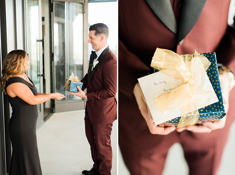 groom gift at the revaire