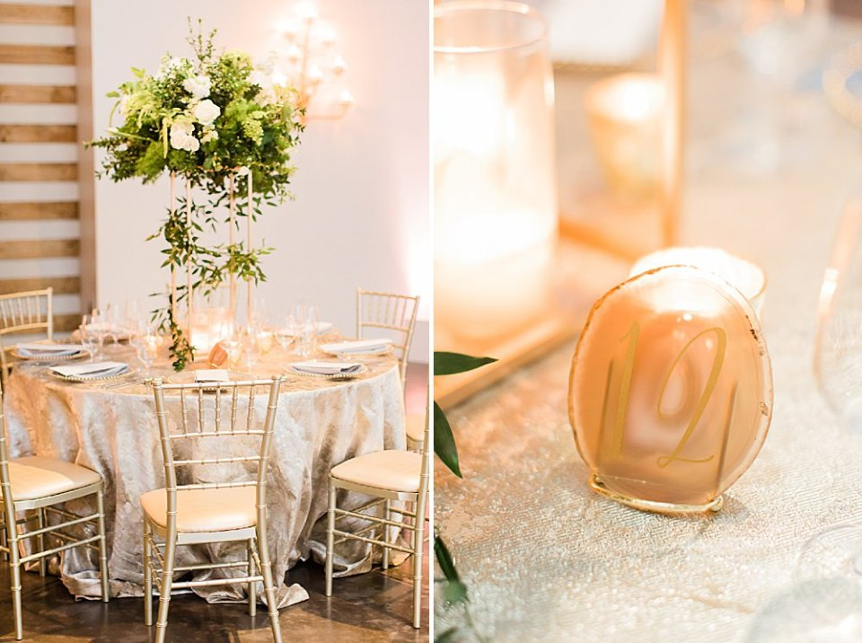 reception details at the revaire