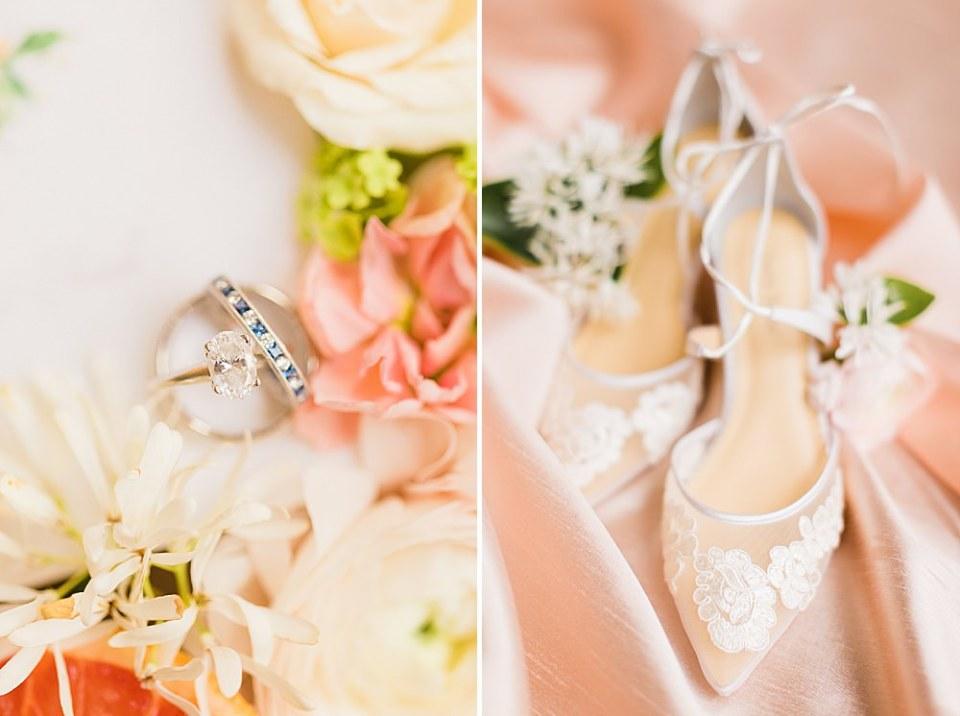 spring citrus wedding theme