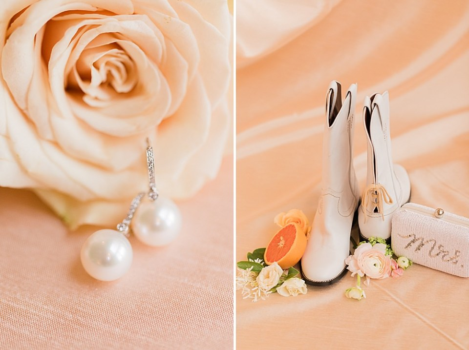 spring bride details