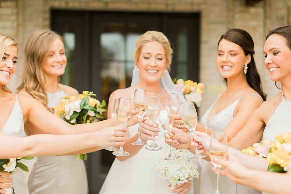 houston bride and bridesmaids