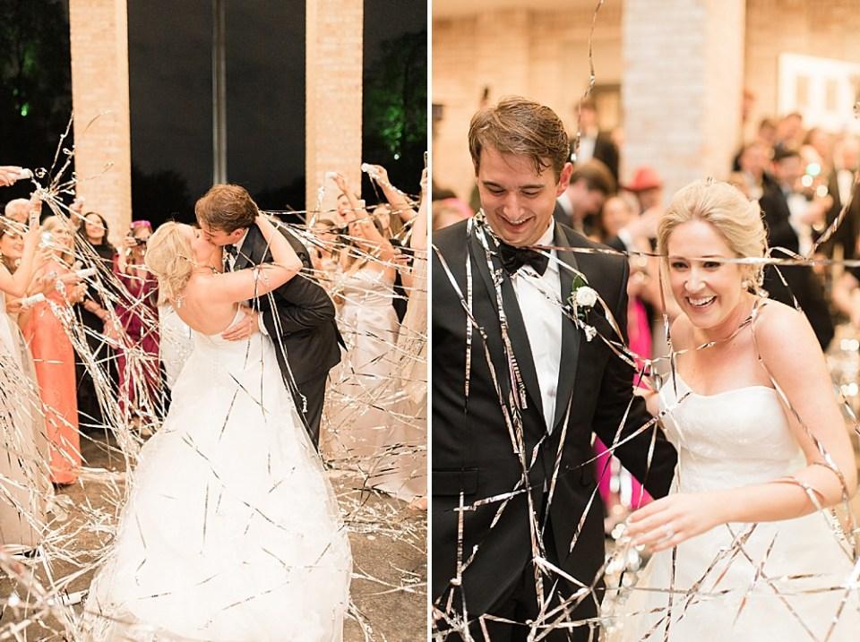 Houston wedding exit