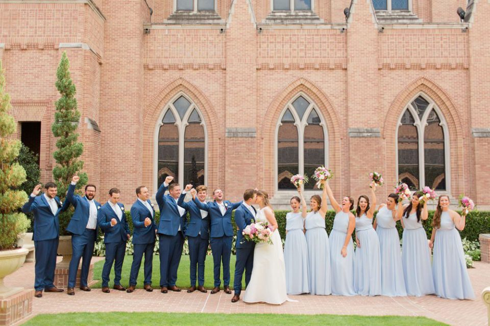 houston wedding bridal party