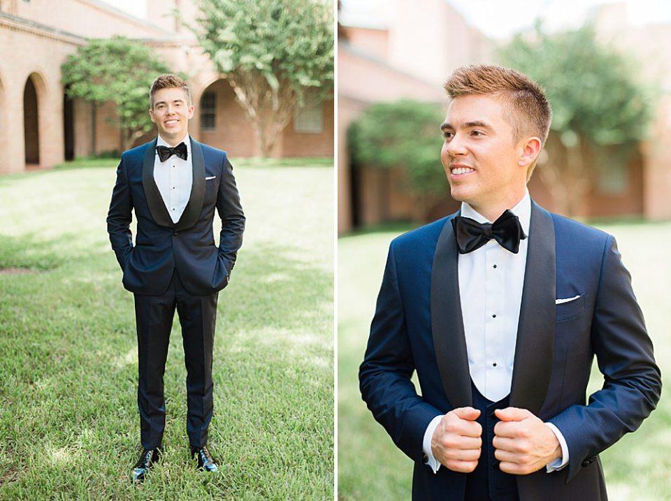 Houston groom portraits