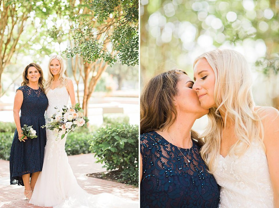 mother and bride portraits