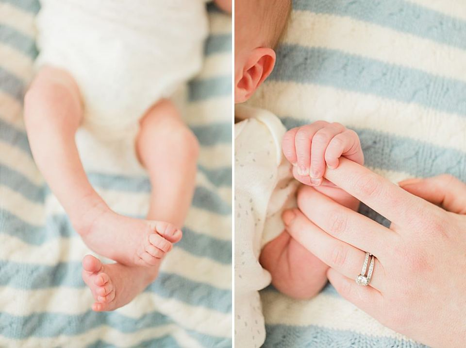 baby hands and feet