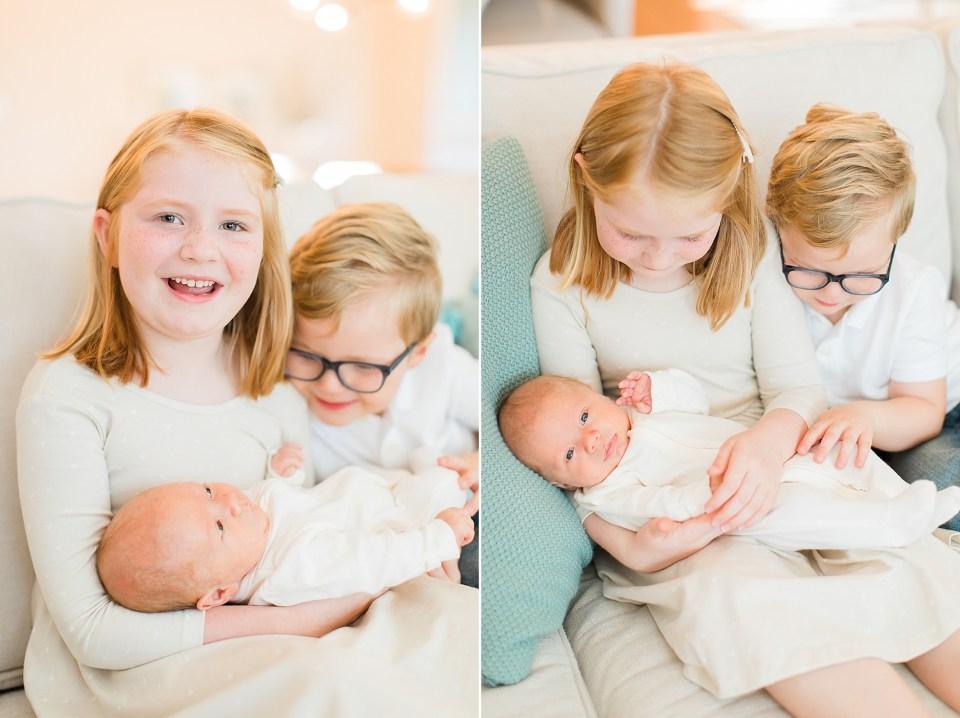 Houston family photographer newborn