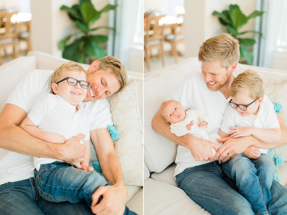 houston family photos father and kids