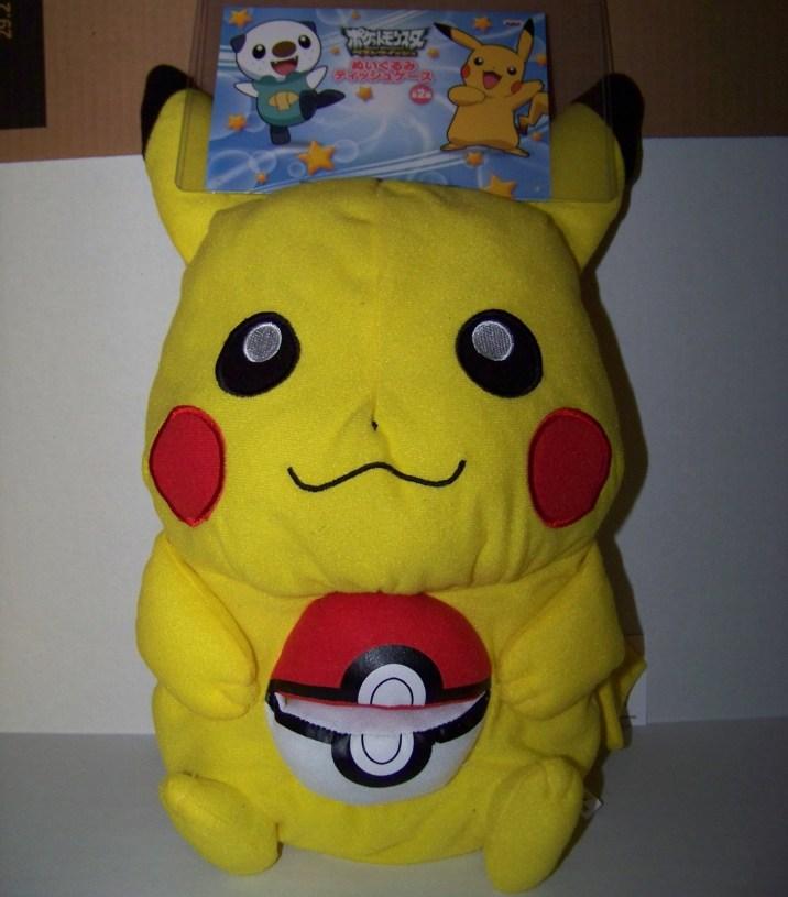 Pokemon Pikachu Banpresto Tissue Dispenser Plush