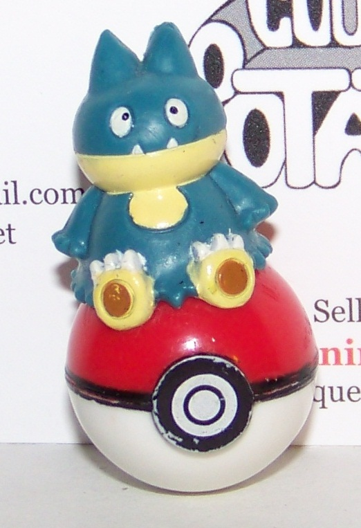 Pokemon Munchlax form On Pokeball Figure